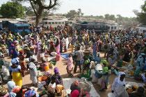 Sénégal, marché hebdomadaire