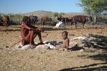 Namibie, rencontre avec le peuple Himba, dans le nord ouest du pays