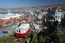 Chili, Valparaiso, Funéculaire