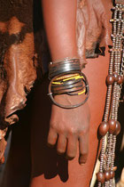 Namibie, rencontre avec le peuple Himba, artisanat Himba
