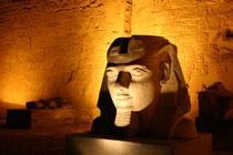 Egypte, temple de Louxor