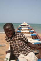 Sénégal, Plage de Ngaparou
