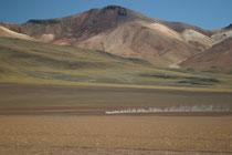 Bolivie, Sud Lipez, c'est en 4*4 durant 4 jours que vous sillonnerez ces paysages d'origine du monde