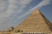 Egypte, Pyramides du Caire