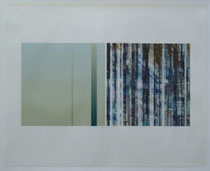 Durchsicht Nr. 3 (Transparency nr. 3), 2007. Inkjet-Print on Japanese Paper. Size:  70 x 100 cm