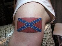 тату флаг