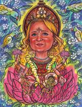 шарж по фото индийская царица