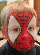 аква грим Spider-Man