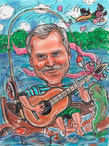 Грибник, рыбак, еще и гитарист