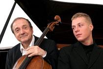 Photo:Andrea Felvégi ミクローシュ・ペレーニ&ベンジャミン・ペレーニです!来年の公演が楽しみです!