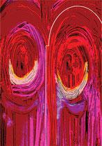 La Mezquita. 2003. Ink on paper. 42 x 29cm. © Charles Rocco