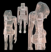 Tribe Of Terrestrial Maladroits. 2003. Wire mesh. 90 x 200 x 200cm. © Charles Rocco