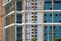 Baustelle in Mombasa Foto Bert Harzer