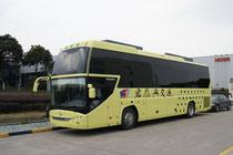 Спальный автобус Higer KLQ 6125DW. Очень популярный вид автобусов в Китае. Вся верхяя часть отдана под простецкого вида спальные места