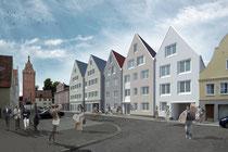 Altstadtwohnungen Memmingen Kempter Str.22  +Innenhof