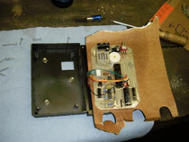 Der Tripmaster wurde mit Elektroniklack wasserfest gemacht