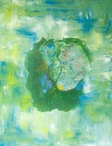Serie Procesos transitorios 23 - 116x89 cm