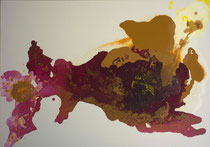 Serie Procesos transitorios 28 - 100x70 cm