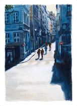 「午後のサンポール街」 53x36cm