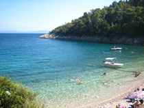 Beach near M.Draga