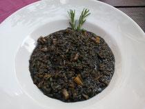 Crni risoto-Black risoto-Schwarze Risotto