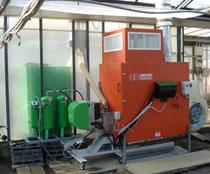 Luftpelletsheizung gärtnerei