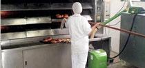 Pelletbrenner Termocabi für Bäckereien
