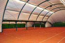 Pelletheizung für Tennis und Sporthallen