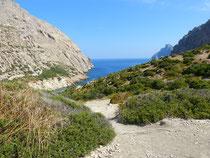 Wanderung Cala Boquer
