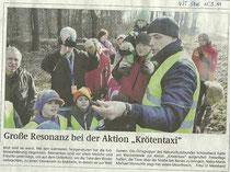 Volksstimme Schönebeck vom 15. März 2011