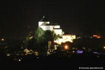 Festung Kufstein bei Nacht (vom Niederndorferberg aus fotografiert)