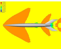Density, Mach 1.2--simulated altitude of 15,000 ft (Re= 33.8 x 10^6)