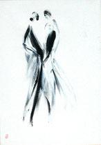 imaginaire n° 1618-99, acrylique sur toile, 70x50