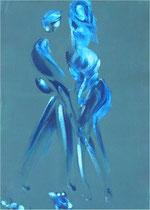 Imaginaire 1013, acrylique sur carton 70x50
