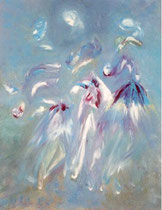 Imaginaire n° 1021 -99, acrylic on canvas 50P
