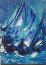 Imaginaire n° 803 -99, acrylic on canvas 130 x 97