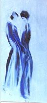 Imaginaire 727, acrylique sur  toile, 70x50, 1996