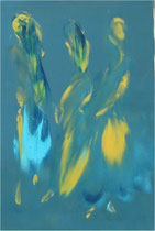 Imaginaire 2004-02, acrylique sur toile 60x40