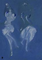 Imaginaire 2009-11, acrylique sur toile, 70 x 50