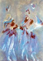 Dream  58, acrylique sur toile, 70x 40
