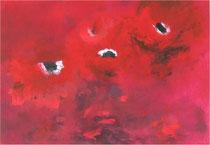 imaginaire n° 1616, acrylique sur carton, 70x50