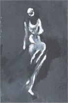 Imaginaire 2006-02, acrylique sur  toile, 60x30, collect.part.