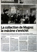 Sud Ouest / 30 Avril 2011