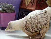 Skulptur, Ente, Skulptur aus Alabaster SFr. 350.-