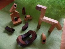 木遊ぶ(きゅうぶ) <マグネット付きブロック 26ピース>