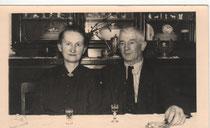 Franz und Hedwig Fichtner (geb. Bürgel)  - 19.12.1953