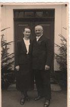 Franz und Hedwig Fichtner (geb. Bürgel)