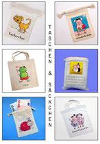 Säckchen und Taschen
