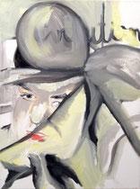 >>Evolution<<, Oil Paint on Canvas, 30 x 40 cm, 2009
