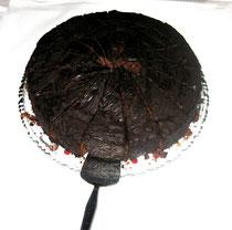 Potamotrycon Motoro, Pfauenaugen Stechrochen sp. kuechli, 28 cm, leider schon aufgegessen :O)